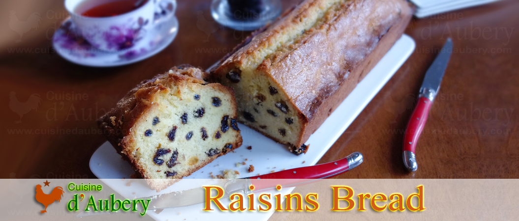 Lenôtre's Raisins Grand Marnier Bread