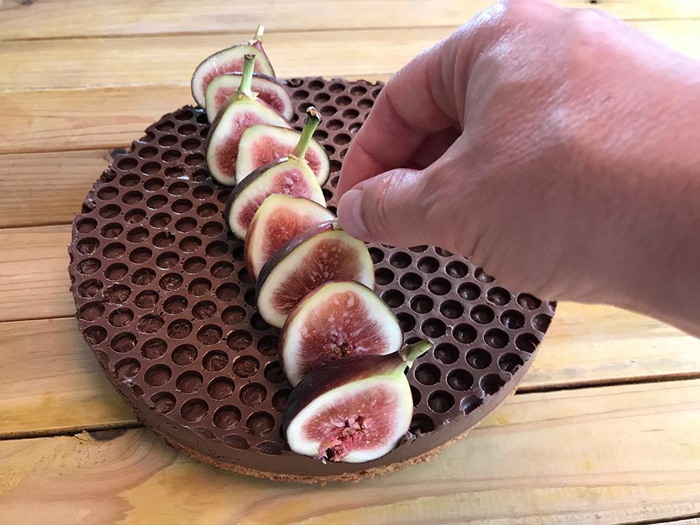 La Tarte aux Figues au Porto et Chocolat