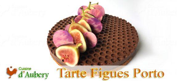 La Tarte aux Figues au Porto et Chocolat de Pierre Hermé