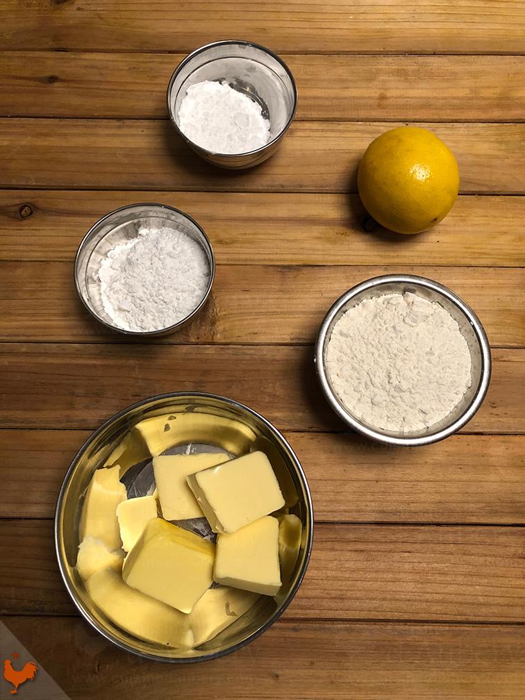 Sablé Linzer au Citron
