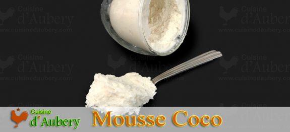 La Mousse Coco de Claire Heitzler