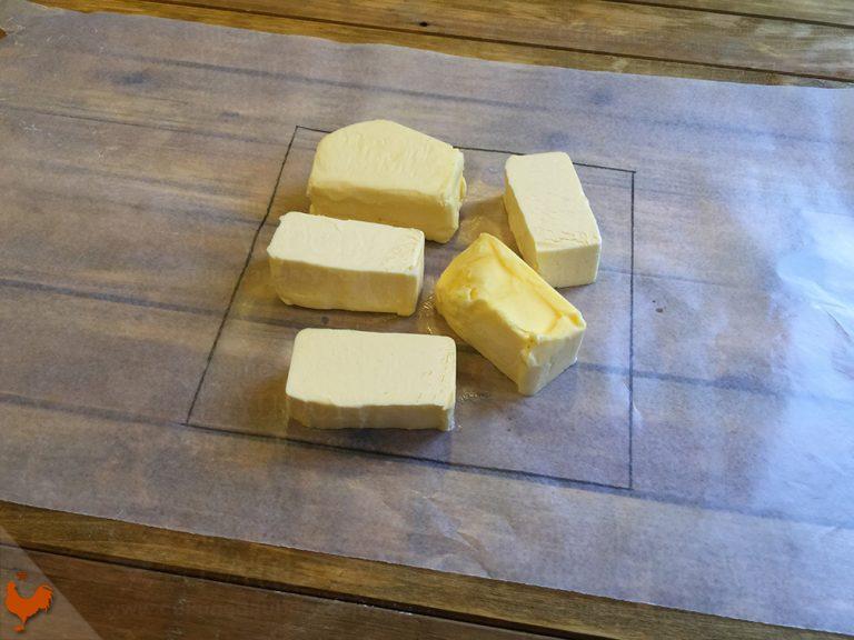 Pâte Feuilletée Levée (pâte à croissants)