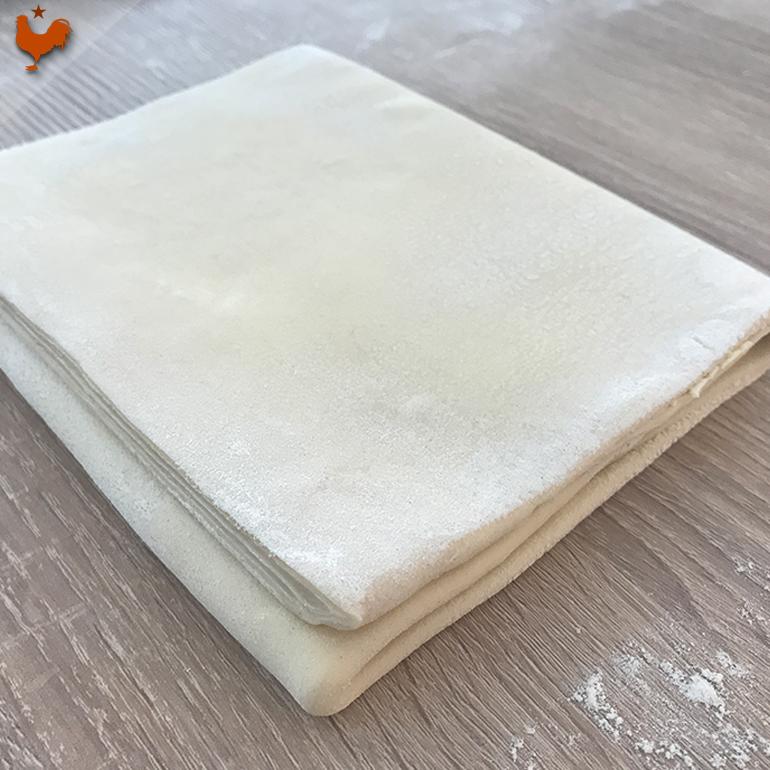 La Pâte Feuilletée Spéciale Pasteis de Nata de Bernard Laurance