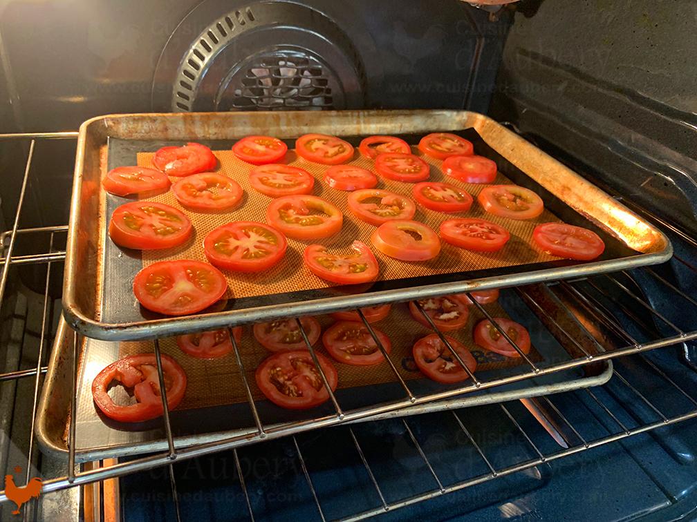 La tarte Tomates et Amandes