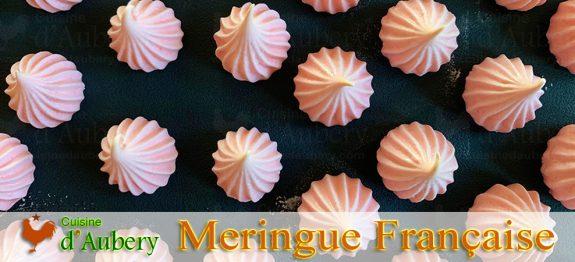 La Meringue Française aux 2 sucres, de Lenôtre
