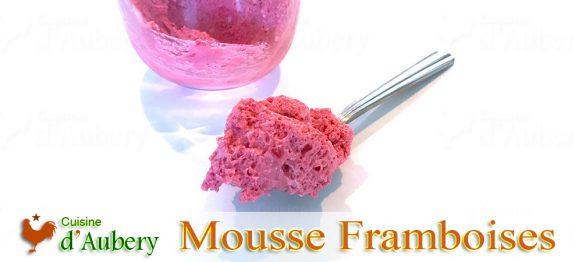 La délicieuse Mousse Framboise de Pierre Hermé