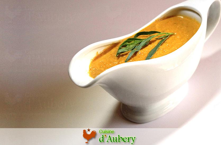 La Sauce Poisson Divine (base crustacés) de Madame d'Aubery