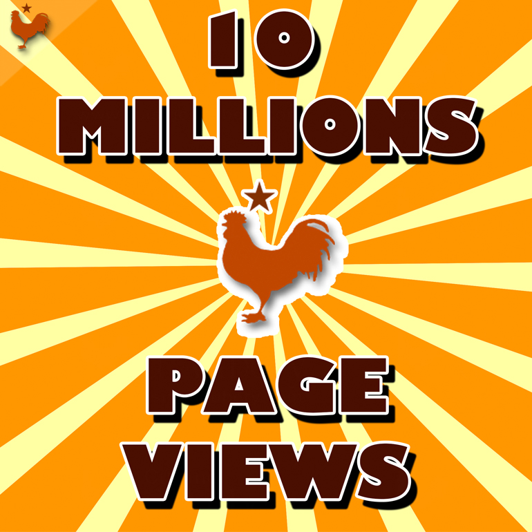 10 Millions page views, Thanks all !