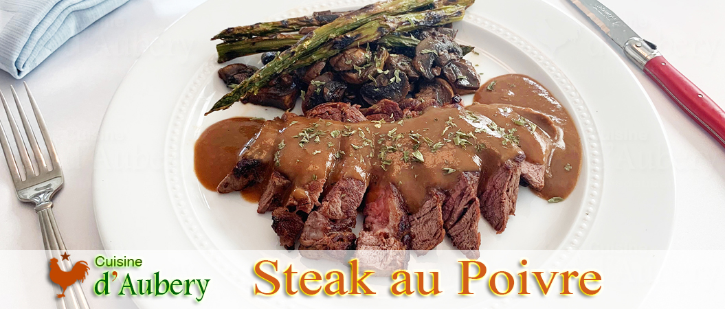 Le Steak au Poivre (tournedos) de Thomas Feller
