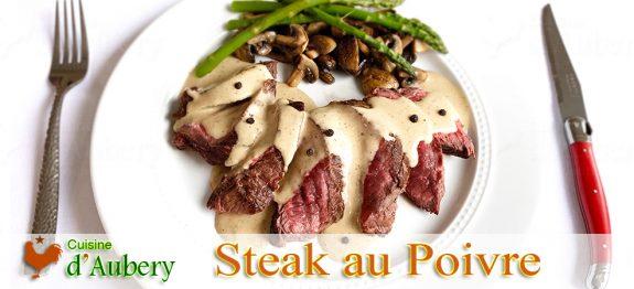 Le Steak au Poivre (tournedos) de Thomas Feller