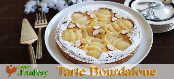 La Tarte Bourdaloue Parfaite (poire amande) de Lenôtre