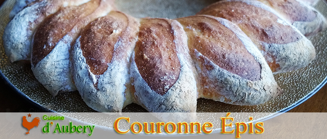 La Couronne en Épis (Méthode 4: machine à pain) de Cécile Decaux