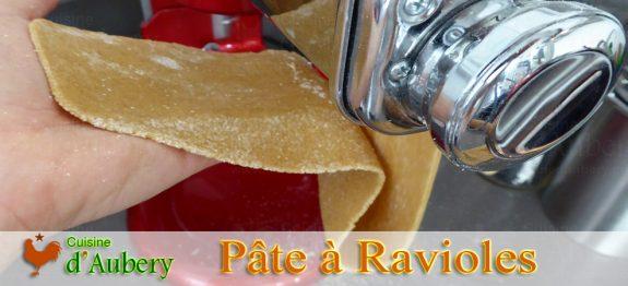 La Pâte à Ravioles de M.O.F Frédéric Anton