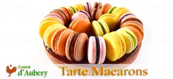 La Tarte aux Macarons de M.O.F Stéphane Glacier