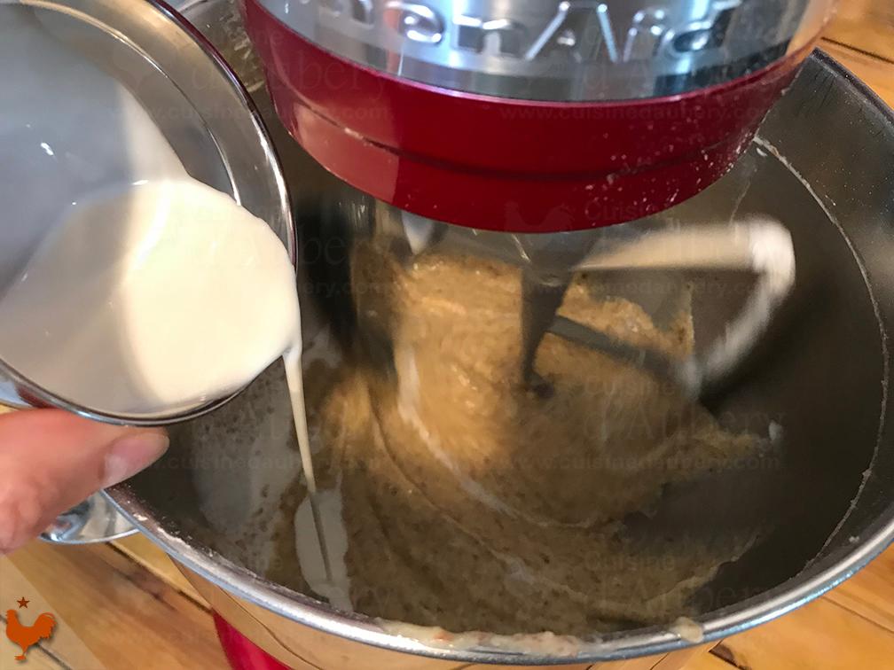La Pâte Sablée avec Crème d'Amandes