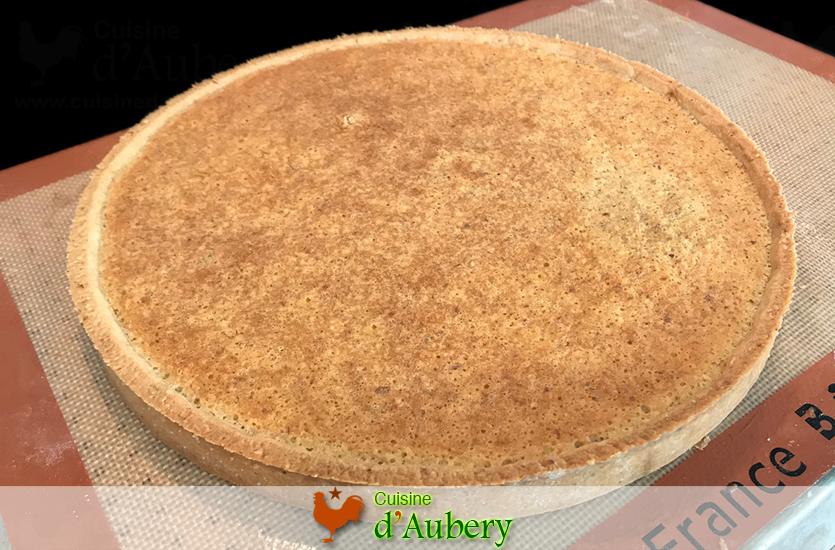 La Pâte Sablée avec Crème d'Amandes de M.O.F Stéphane Glacier