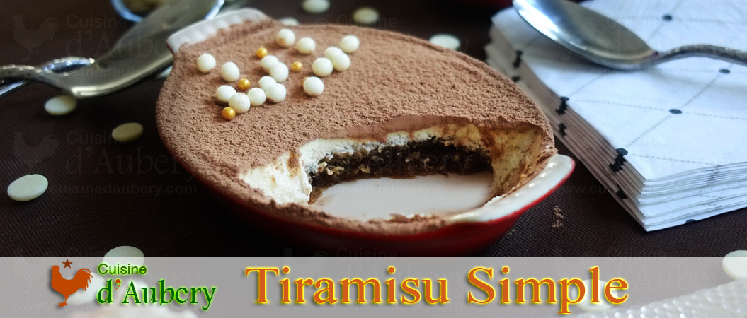 Le Tiramisu, méthode facile