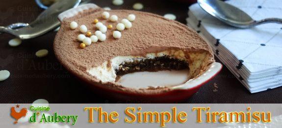 The Easy 10 Minute Classic Tiramisu Recipe