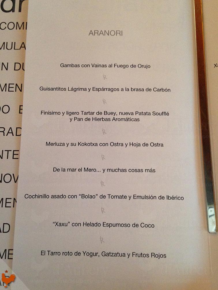 Restaurant Akelare San Sebastian