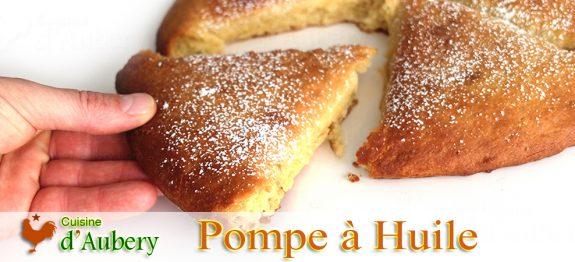 La Pompe à Huile (dessert Provençal de Noël) (comme à Fuveau)