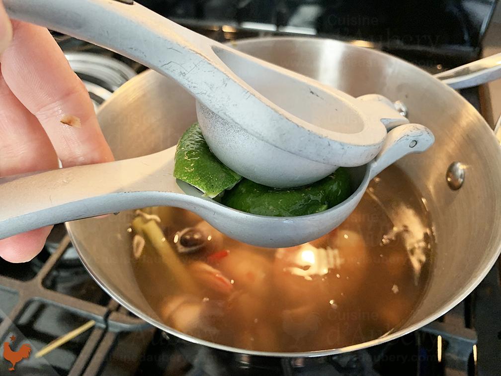 Soupe Thaï Crevettes
