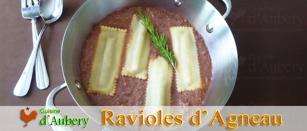 Les Ravioles Finger d'Agneau de Marc Vetri