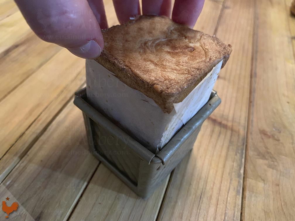 Profiteroles Cube