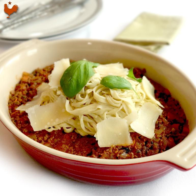 Les Spaghettis Bolognaise de Jean-François Piège
