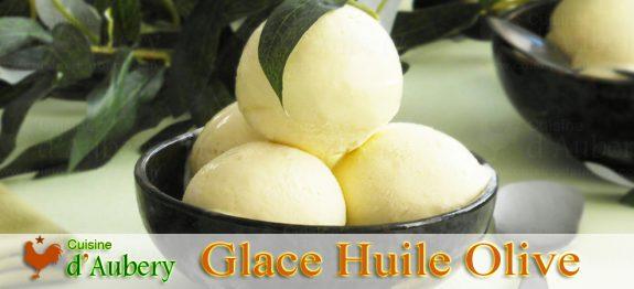 La Crème Glacée à l'Huile d'Olive de M.O.F Stéphane Tréand