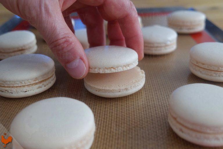 Macarons au Tiramisu