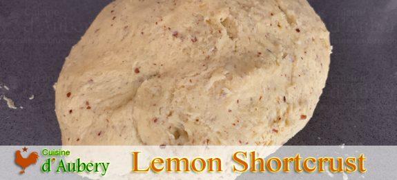 Conticini's Lemon Vanilla Shortcrust Pastry Dough