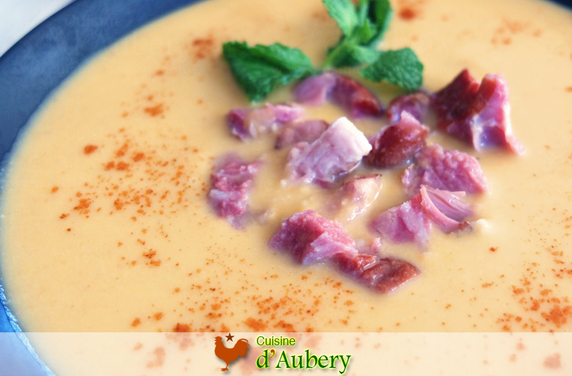 Thomas Keller's Split Pea Soup with Ham Hock (Potage Saint-Germain)