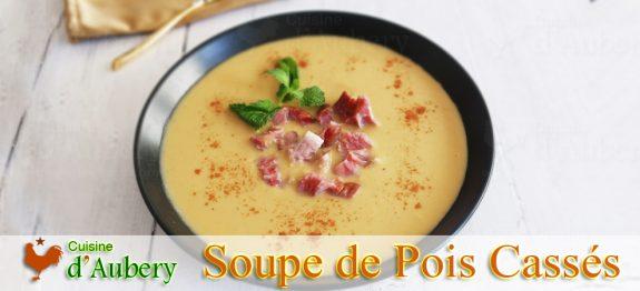 Le Potage Saint-Germain (Soupe de Pois Cassés) et Jarret de Porc fumé de Thomas Keller