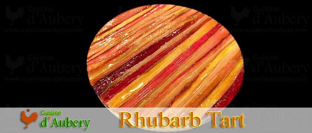 Philippe Conticini's Rhubarb Tart