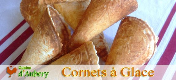 Les Cornets à Glace de Lenôtre
