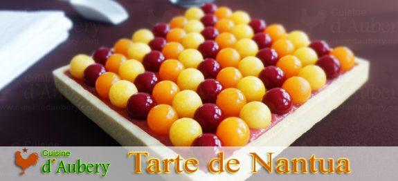 La Tarte Rhubarbe Framboise de Nantua