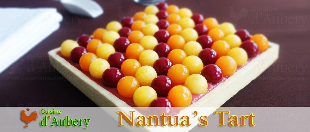 Nantua's Tart (Rhubarb Raspberry)