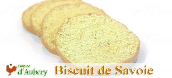 Le Biscuit de Savoie de Pierre Hermé