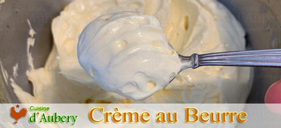 La Crème au Beurre Classique de M.O.F Stéphane Tréand
