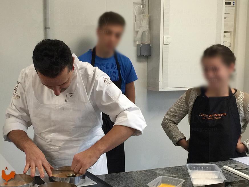Cours de Cuisine : L'école Thierry Bamas de Biarritz