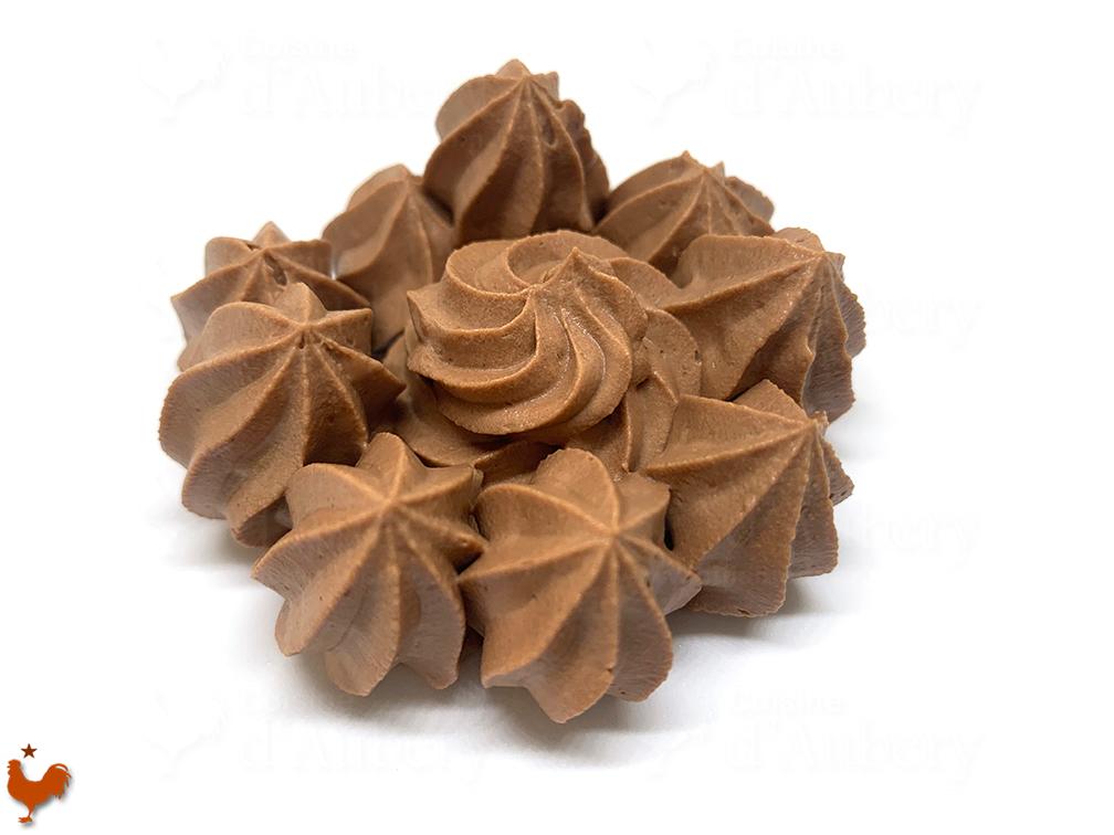 La Ganache Montée, Chocolat Noir ou Au Lait
