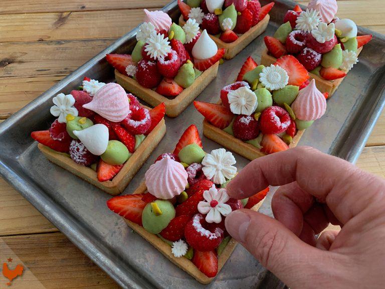 Tartelette aux Fruits Rouges
