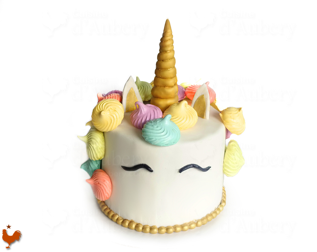 Gâteau Licorne