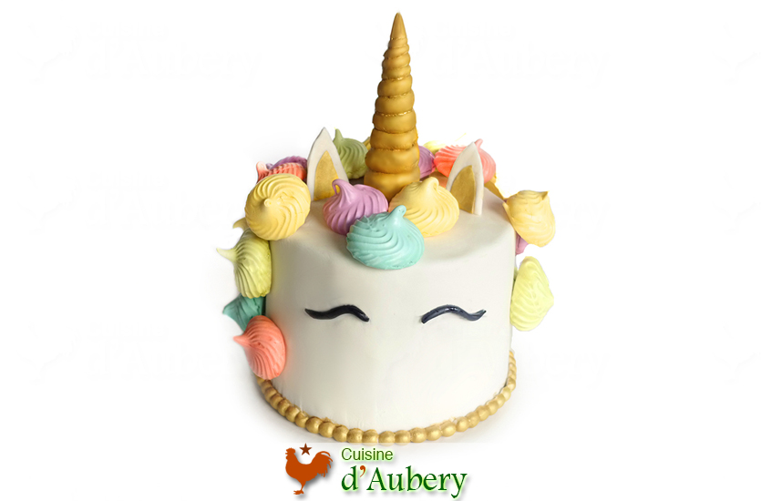 Le Gâteau Licorne (l'anniversaire de Keira)
