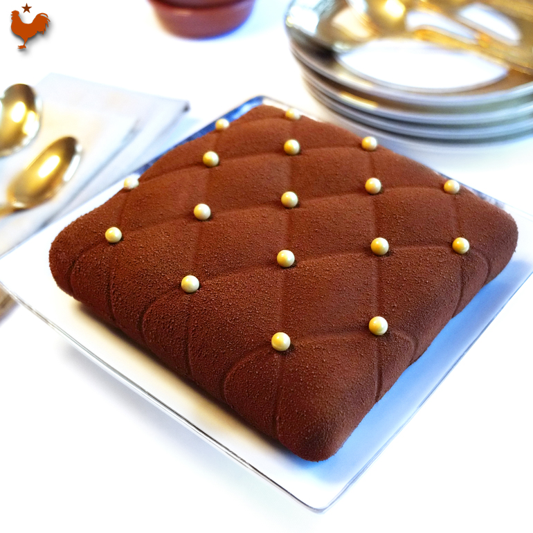 Le Coussin Chocolat Orange Grand Marnier