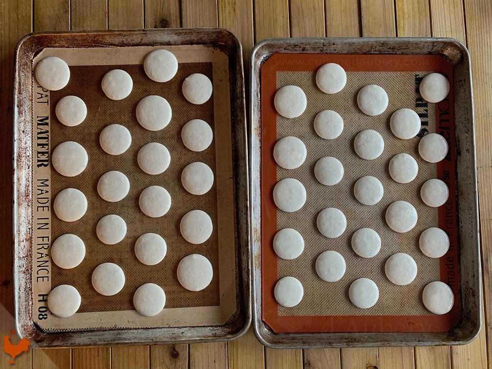 Macarons au Baileys