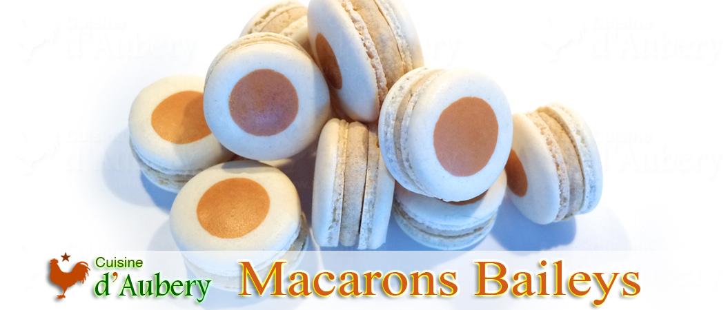 Les délicieux Macarons au Baileys (comme au jardin des tuileries)