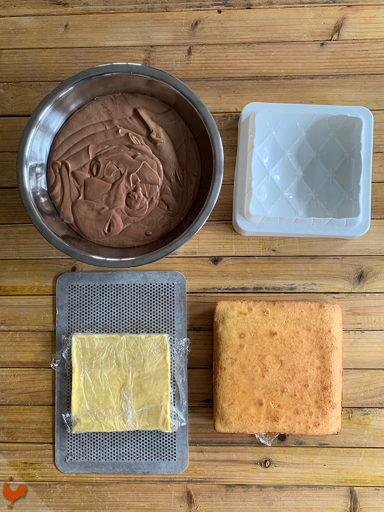 Coussin Chocolat Orange Grand Marnier
