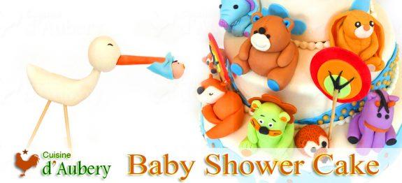 Le Baby Shower Cake (rien que pour Sofia et son futur Luke)