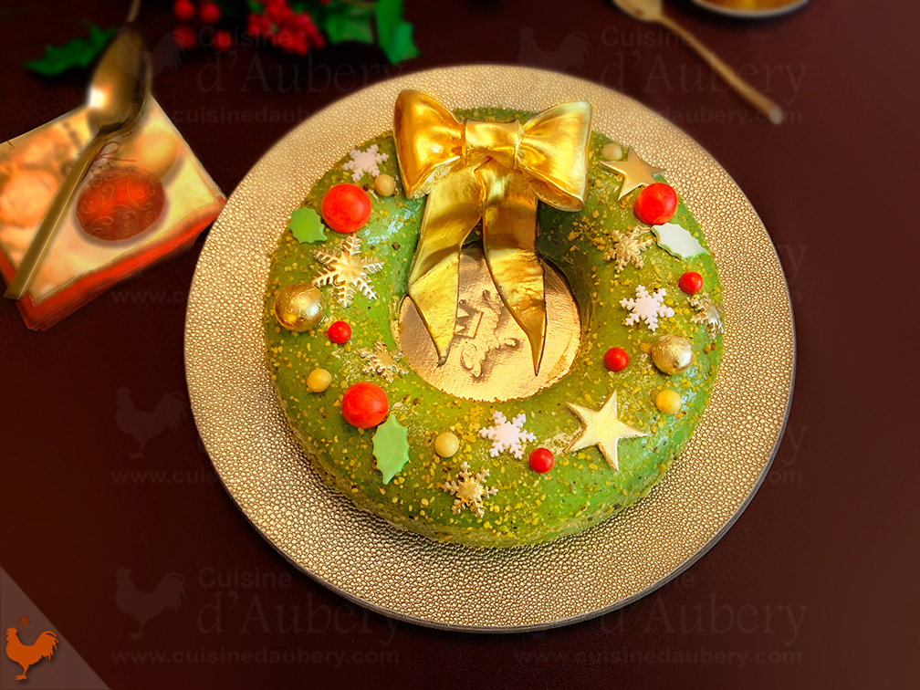Entremets Happy New Year